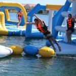 Floating Obstacle Course Jeffreys Bay